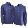 长袖工作衬衫+工作裤套装(男式)