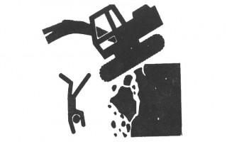 挖掘机安全操作