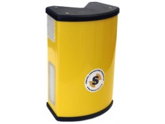 Sentry Protection Products , providing a visual warning that alerts forklift drivers and pedestrians
