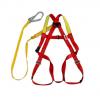 霍尼韦尔DL-C1单挂点集成式全身安全带 配缓冲系带与脚手架挂钩