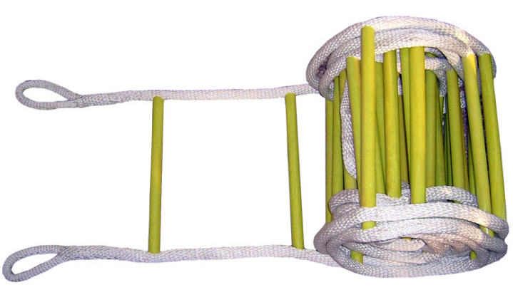 尼龙软梯 软爬梯 钢丝绳梯 阻燃方管防滑软梯