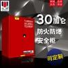 ZOYET 防爆柜安全柜 工业防爆柜防火柜 实验室危险品化学品安全存储柜 SC 红色可燃品安全柜 30加仑