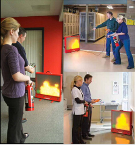 激光灭火器训练系统 LASER-DRIVEN EXTINGUISHER TRAINING SYSTEM