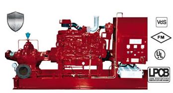 FM认证消防泵 Fire Pumps