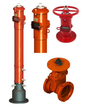 FM认证PIV阀 Post Indicator Valves