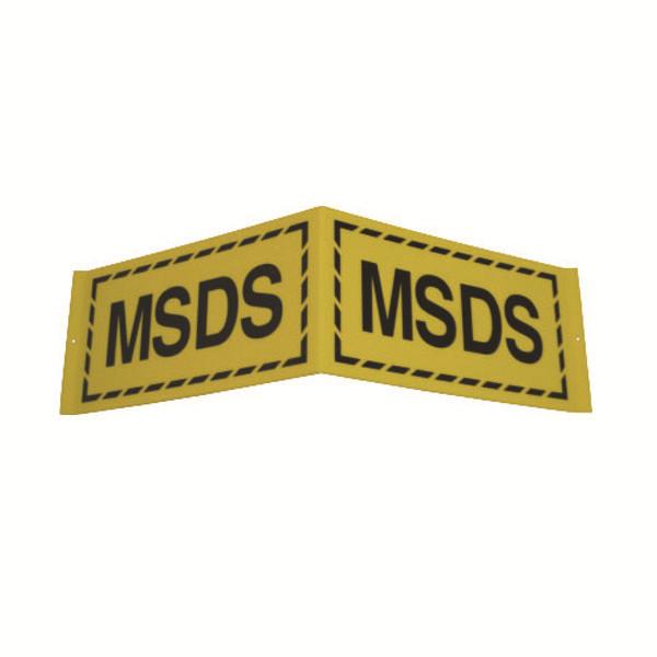 L型标识(MSDS) 优质ABS工程塑料材质,700×200mm