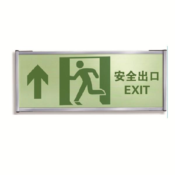 EHSCity全系列 各方位 自发光单面疏散标识