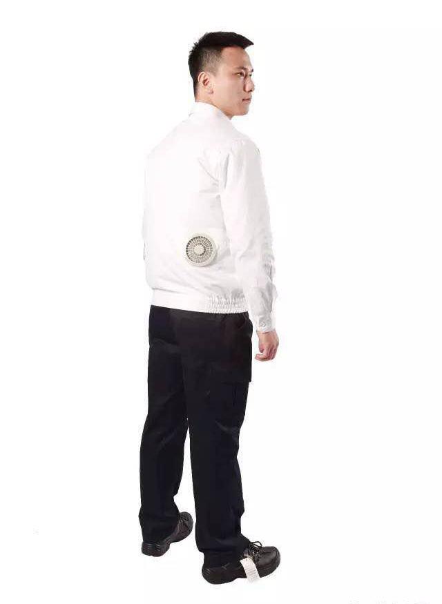 【防暑降温新品】透气舒适空调服,内置风扇