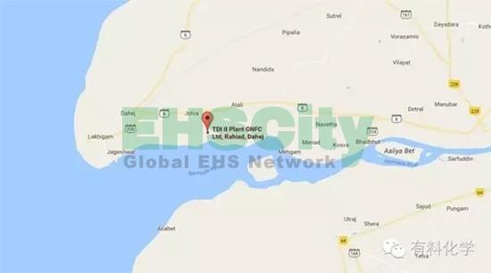 印度GNFC公司TDI工厂发生光气泄露