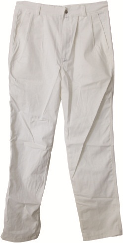 AP-9710友盟白色可水洗棉布防火阻燃焊裤