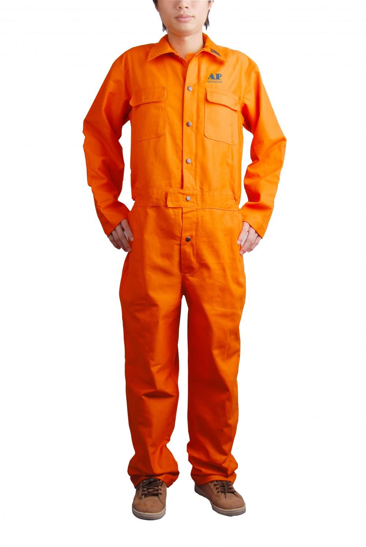 AP-8300友盟橙色连体防火阻燃服