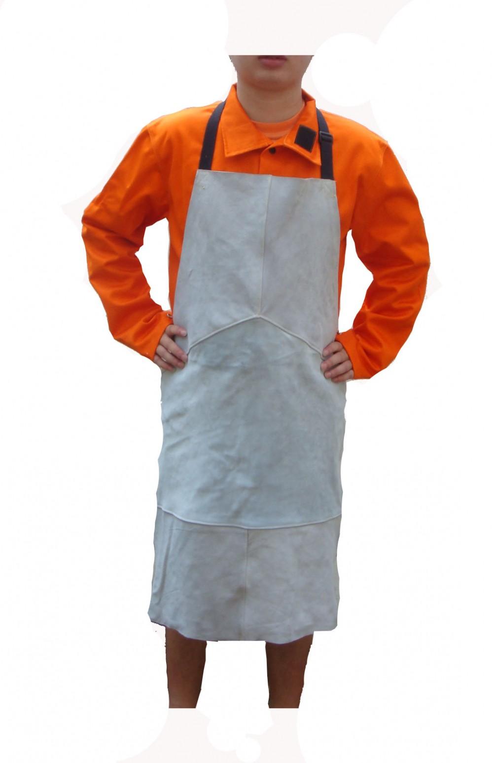 AP-6103友盟原色全皮护胸围裙