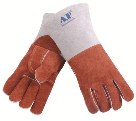 AP-2900友盟咖啡色耐高温皮手套