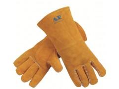 AP-0909友盟金黄色牛二层皮手套