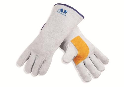 AP-2002友盟原色护掌电焊手套