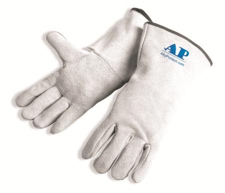AP-2112友盟原色全皮烧焊手套