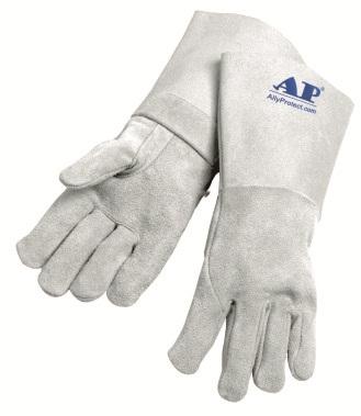AP-1205友盟原色全皮无内里烧焊手套