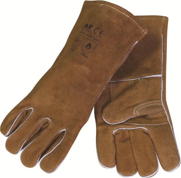 AP-0606友盟金棕色护掌烧焊手套