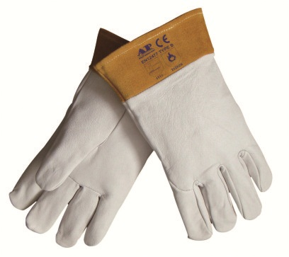 AP-1088友盟高档羊青皮短袖筒TIG焊手套