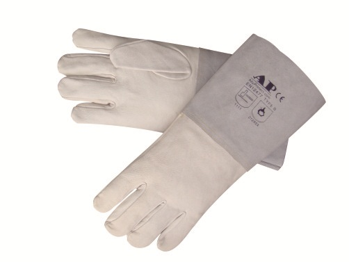 AP-1111友盟高档羊青硬袖TIG手套