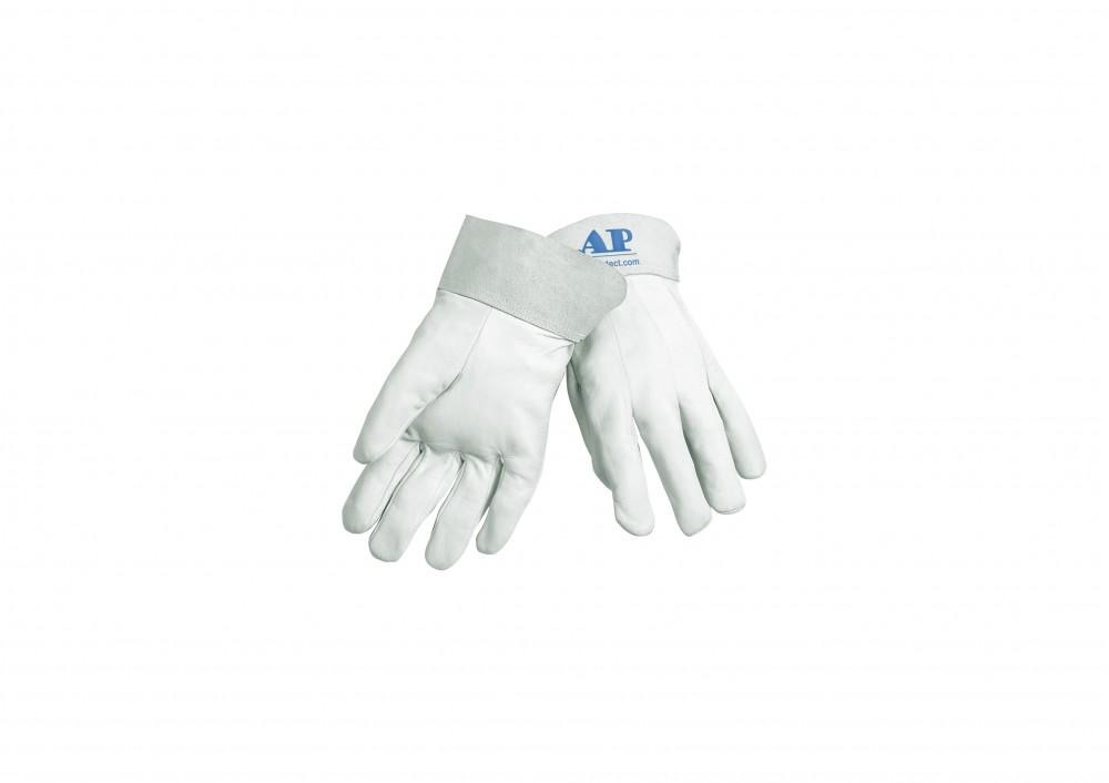 AP-1103友盟牛青皮短袖筒TIG手套