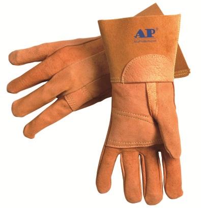 AP-9003友盟猪青皮加驳TIG手套