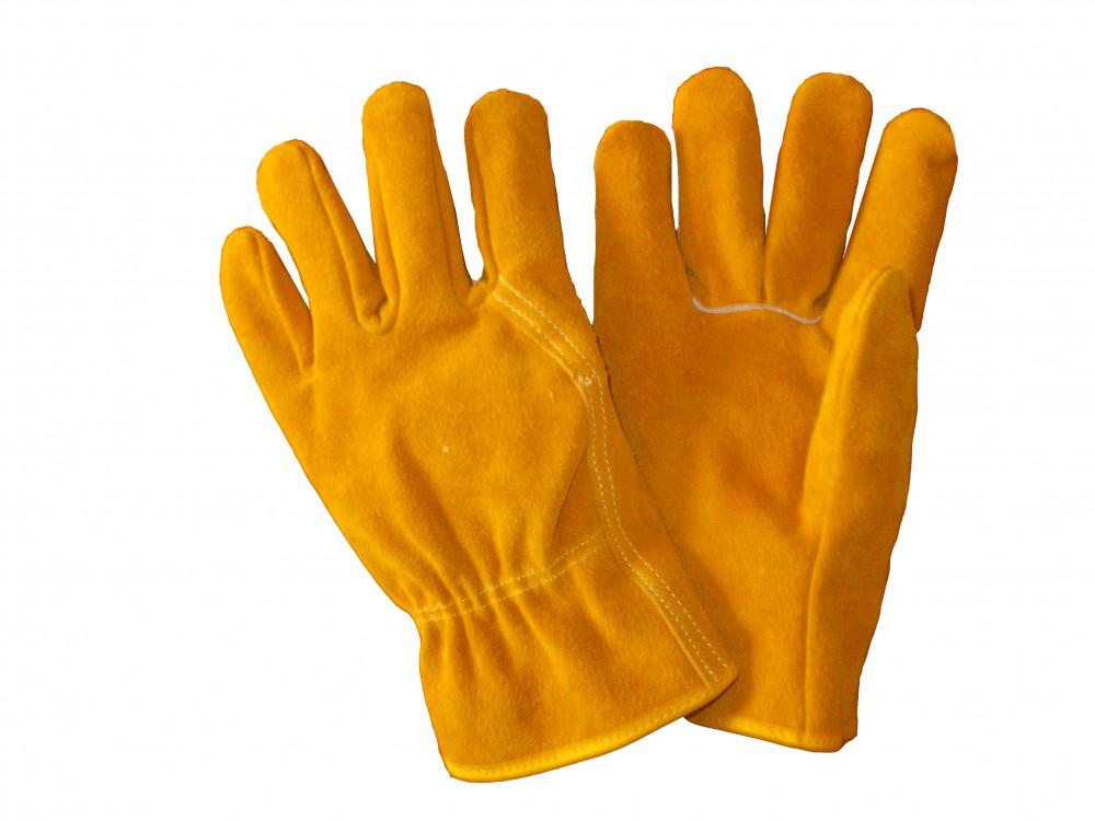 AP-1303 友盟工业保磨牛二层芯皮手套
