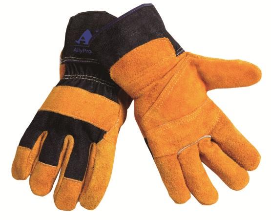 AP-1506友盟金黄色驳掌手套