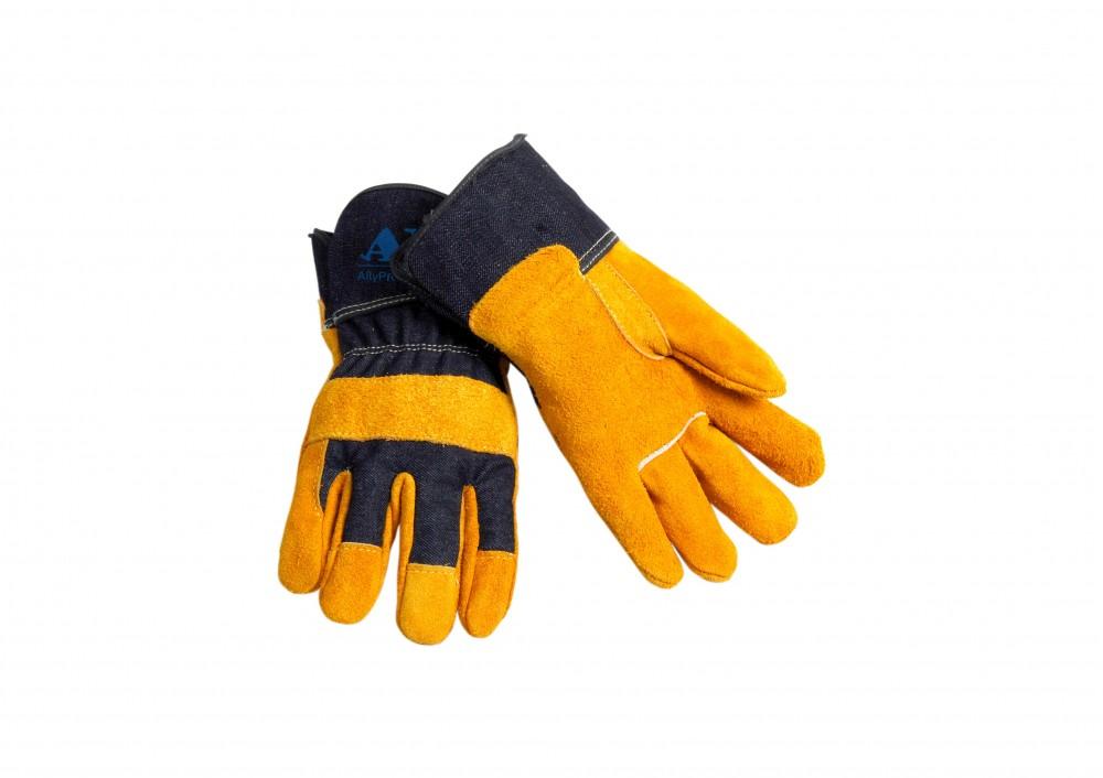 AP-1505友盟金黄色全掌手套