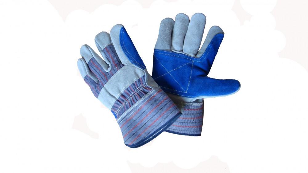 AP-1525友盟原色加青色全托手套