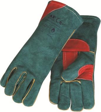 AP-3201友盟绿色护掌抗严寒烧焊手套