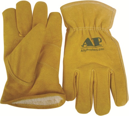 AP-2266友盟猪青皮抗严寒工作手套