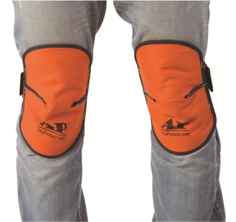 AP-6660友盟橙红色防火布护膝