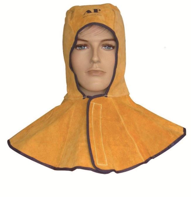 AP-3000Y友盟金黄色皮全护式焊帽