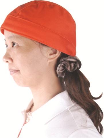 AP-6710友盟橙红色阻燃布焊帽