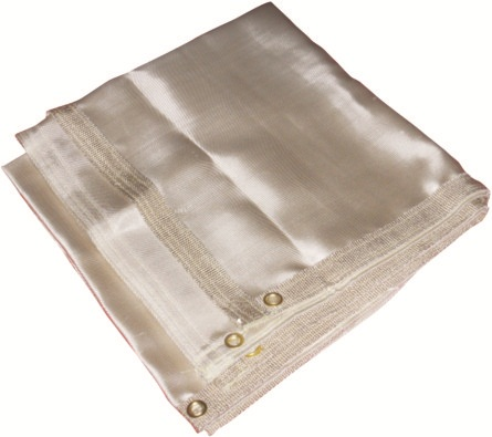 AP-9066友盟沙漠色玻璃纤维焊毯