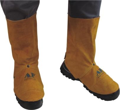 AP-9400友盟金黄色全皮中筒脚盖