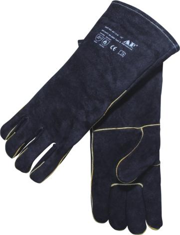 AP-2114友盟黑色全皮电焊手套