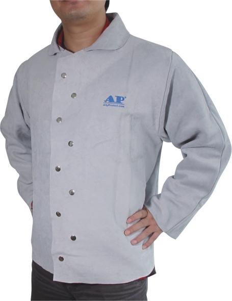 AP-3131友盟原色全皮上身焊服