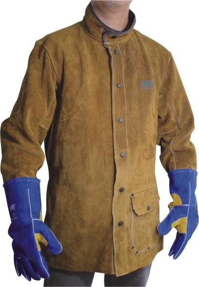 AP-8130友盟金棕色全皮上身焊服