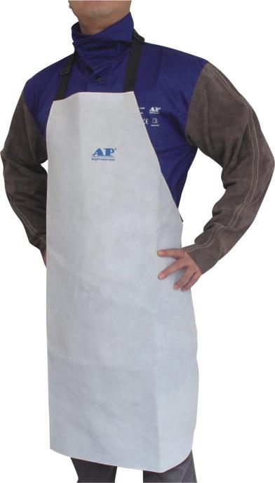AP-6104友盟原色全皮护胸围裙