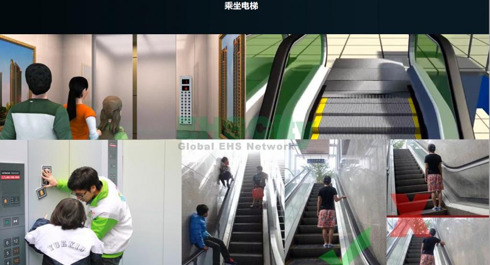 乘坐电梯安全