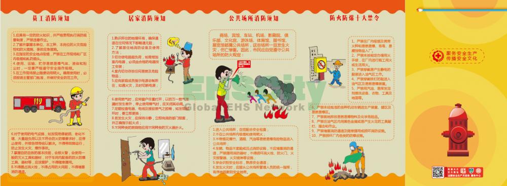 ZAZ0029消防安全知识宣教折页