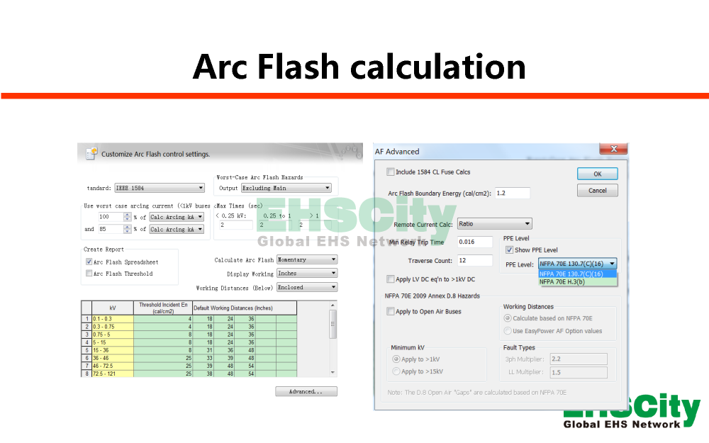 EHSCity弧闪分析Arc Flash e<em></em>valuation_页面_08