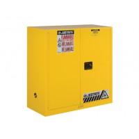 8930001黄色手动钢制安全存储柜JUSTRITE