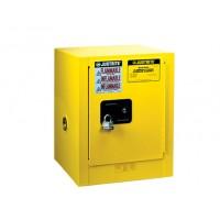 8904001黄色钢制台上式安全存储柜JUSTRITE