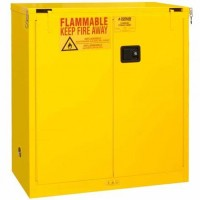 1030S-50黄色自闭钢制安全存储柜DURHAM MFG