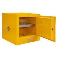1002M-50安全存储柜 黄色手动钢制存储柜DURHAM MFG