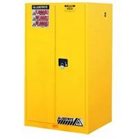 8922001黄色手动钢制细长型安全存储柜 JUSTRITE