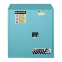 8917021蓝色手动钢制背负式安全存储柜腐蚀品用JUSTRITE